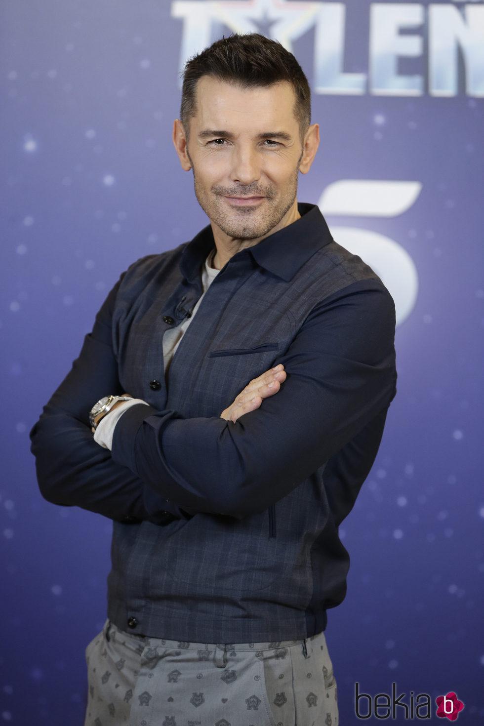 Jesús Vázquez en la presentación de 'Got Talent'
