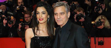 George Clooney y Amal Alamuddin en la Berlinale 2016