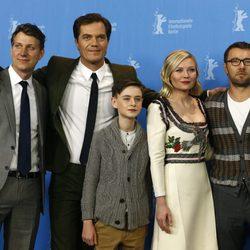 Kirsten Dunst con el reparto de 'Midnight Special' en la Berlinale 2016