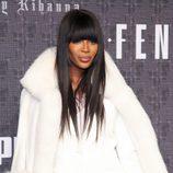 Naomi Campbell en la presentación de 'Fenty Puma' de Rihanna