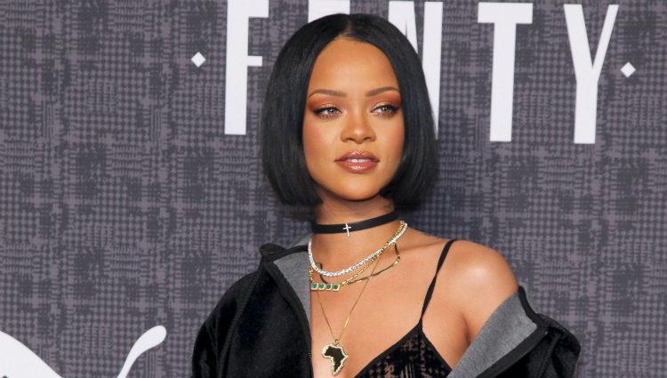 Rihanna en la presentación de 'Fenty Puma'