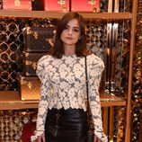 Jenna Coleman en la fiesta pre-Bafta 2016 de Louis Vuitton