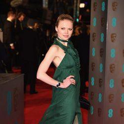 Katia Elizarova en la alfombra roja de los BAFTA 2016