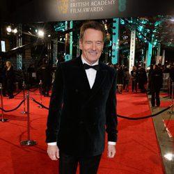 Bryan Cranston en la alfombra roja de los BAFTA 2016