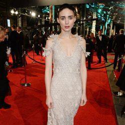 Rooney Mara en la alfombra roja de los BAFTA 2016