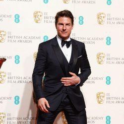 Tom Cruise en los BAFTA 2016