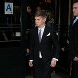 Romeo Beckham en el desfile de Victoria Beckham en la FW de Nueva York