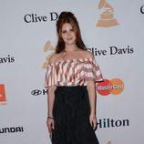 Lana Del Rey en la fiesta Clive Davis previa a los Grammy 2016
