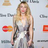 Courtney Love en la fiesta Clive Davis previa a los Grammy 2016