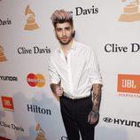 Zayn Malik en la fiesta Clive Davis previa a los Grammy 2016