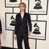 Zendaya en la alfombra roja de los Premios Grammy 2016