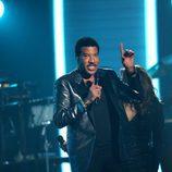 Lionel Richie en la gala de los Premios Grammy 2016