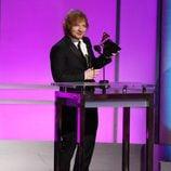 Ed Sheeran premiado en la gala de los Premios Grammy 2016