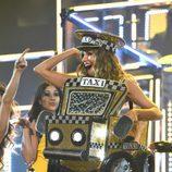 Sofia Vergara dándolo todo bailando 'El Taxi' en los Grammy 2016
