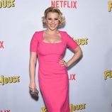 Jodie Sweetin durante la presentación de 'Madres Forzosas' en Netflix