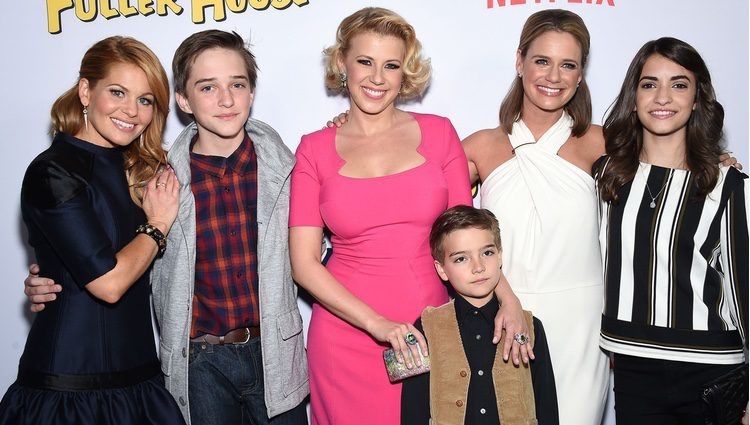 Las protagonistas de 'Madres Forzosas' en la presentación de la serie