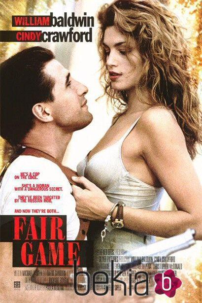 Cindy Crawford en el cartel de la película 'Fair Game'