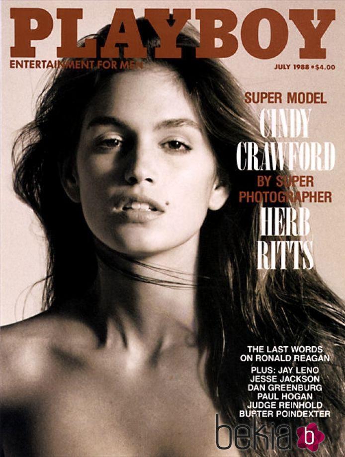 Cindy Crawford en la revista Playboy de 1988