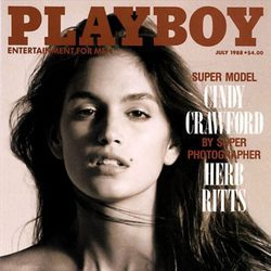 Cindy Crawford en la revista Playboy de 1988