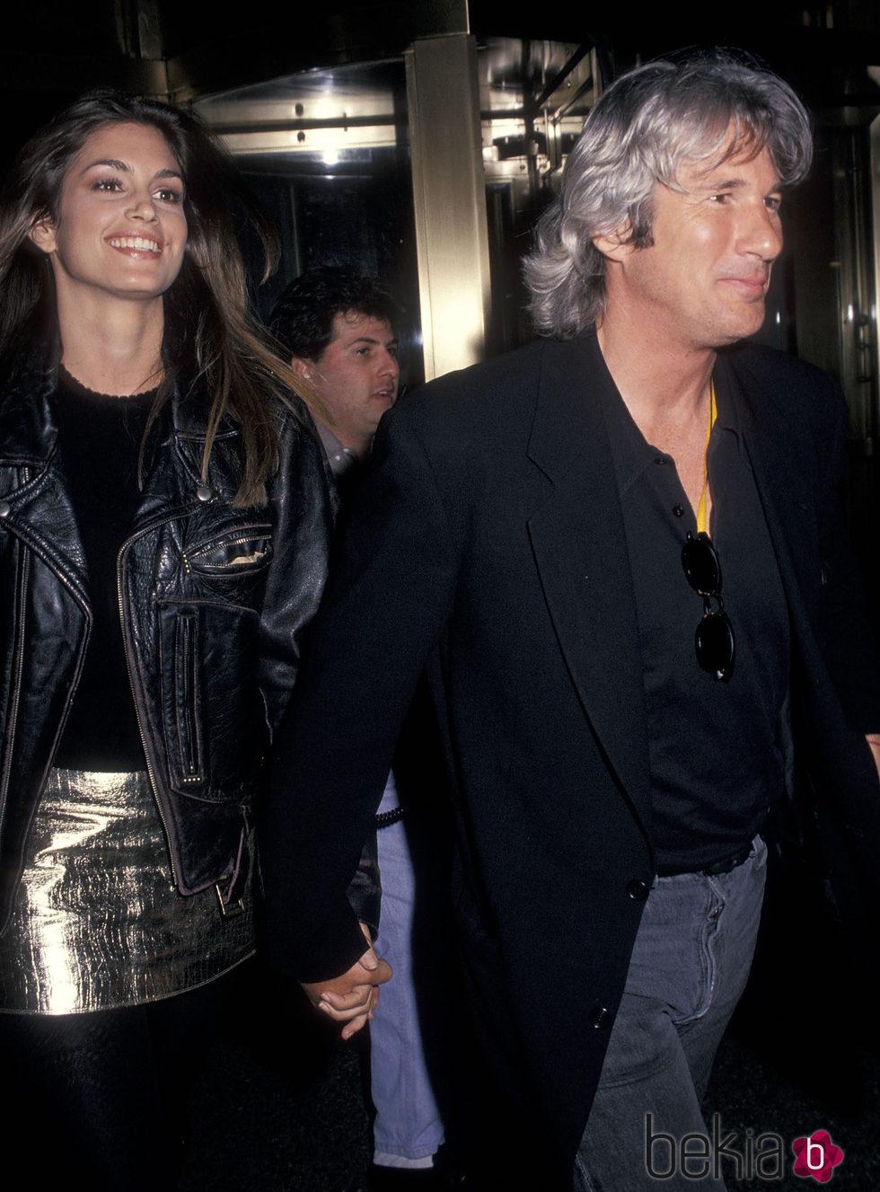 Cindy Crawford con Richard Gere