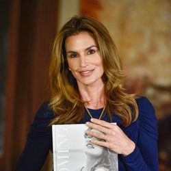 Cindy Crawford presentando su libro 'Becoming'