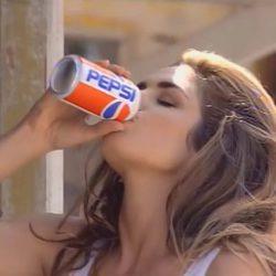 Cindy Crawford en el anuncio de Pepsi