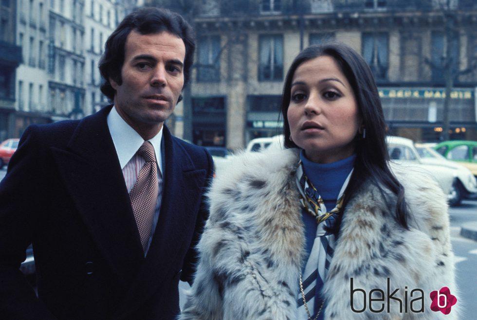Julio Iglesias e Isabel Preysler en Madrid