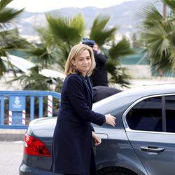 La Infanta Cristina en la octava sesión del juicio por el Caso Nóos