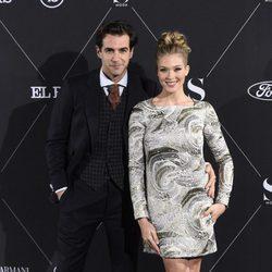Álex Adrover y Patricia Montero en la fiesta de S Moda