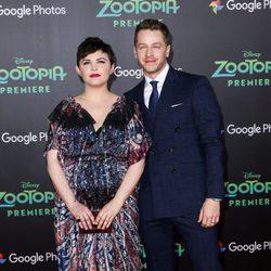 Ginnifer Goodwin y Josh Dallas en el estreno de 'Zootrópolis' en Los Angeles