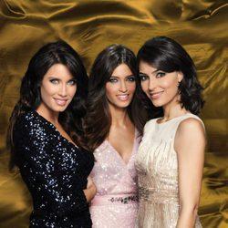 Pilar Rubio, Sara Carbonero y Marta Fernández en la foto promocional de las Campanadas