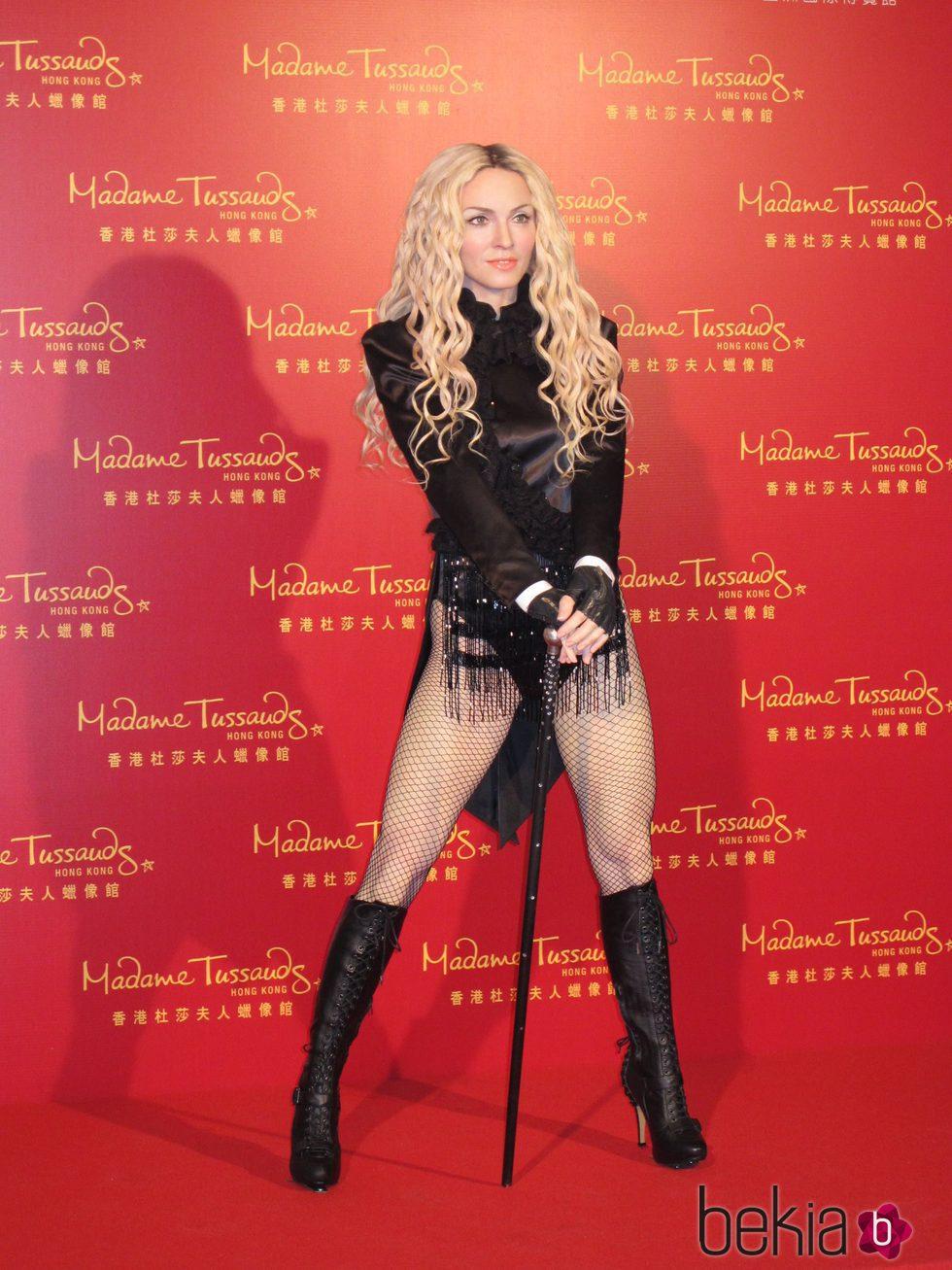 Figura de cera de Madonna en Hong Kong
