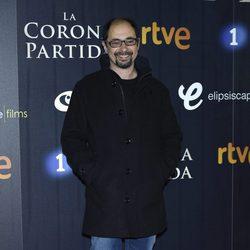 Jordi Sánchez en el estreno de 'La Corona Partida'