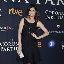 Elia Galera en el estreno de 'La Corona Partida'