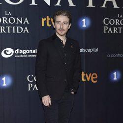Víctor Clavijo en el estreno de 'La Corona Partida'