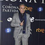 Eusebio Poncelo en el estreno de 'La Corona Partida'