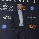 Raúl Mérida en el estreno de 'La Corona Partida'