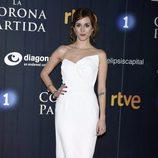 Silvia Alonso en el estreno de 'La Corona Partida'