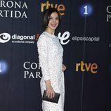 Carolina Lapausa en el estreno de 'La Corona Partida'
