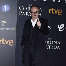 Fernando Guillén Cuervo en el estreno de 'La Corona Partida'