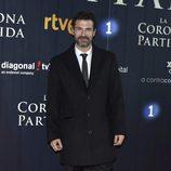 Rodolfo Sancho en el estreno de 'La Corona Partida'