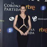 Irene Escolar en el estreno de 'La Corona Partida'