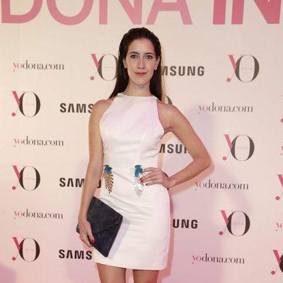 Clara Alonso en la fiesta Yo Dona de la Madrid Fashion Week otoño/invierno 2016/2017