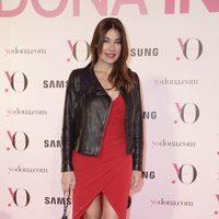 Raquel Revuelta en la fiesta Yo Dona de la Madrid Fashion Week otoño/invierno 2016/2017