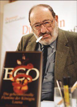 Umberto Eco, autor de 'El nombre de la rosa'