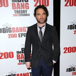 Johnny Galecki en la fiesta de 'The Big Bang Theory' por sus 200 capítulos