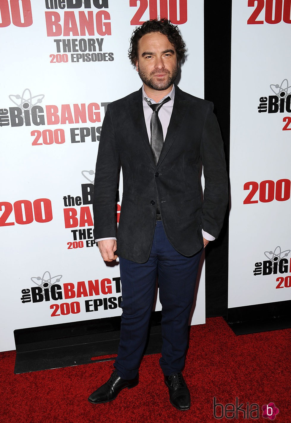 Johnny Galecki en la fiesta de 'The Big Bang Theory' por sus 200 capítulos