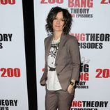 Sara Gilbert en la fiesta de 'The Big Bang Theory' por sus 200 capítulos