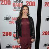 Mayim Bialik en la fiesta de 'The Big Bang Theory' por sus 200 capítulos
