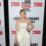 Melissa rauch en la fiesta de 'The Big Bang Theory' por sus 200 capítulos